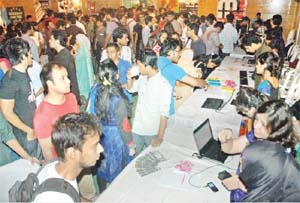 Frosh Fest held at BRAC University