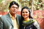 Chanchal Chowdhury and his wife