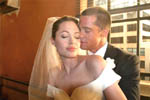 A low-key wedding for Brad Pitt, Angelina Jolie