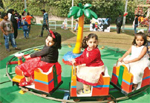 Children celebrate Christmas-