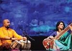 An evening of sitar at Shilpakala