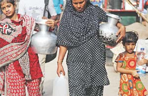 Many Dhaka areas without drinkable water supply